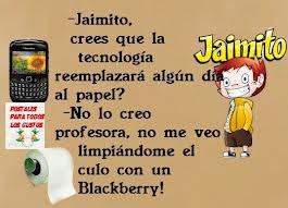 Jaimito y la blackberry